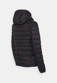 ONLY - OLMTAHOE HOOD JACKET - Light jacket - black - 1