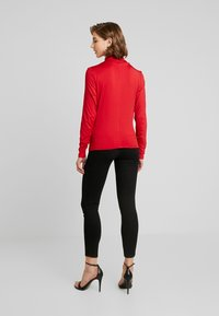 Lost Ink - HIGH NECK RUCHED DETAIL - Long sleeved top - fuchsia - 2
