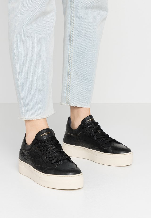 SLFANNA NEW TRAINER  - Sneaker low - black