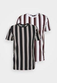 Burton Menswear London - 2 PACK - T-shirt print - white - 6