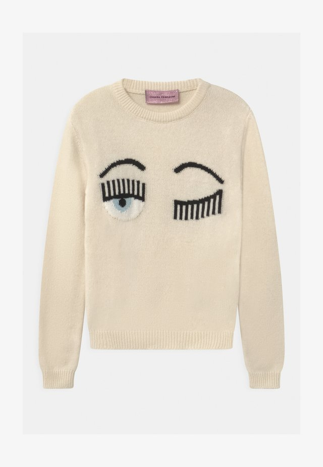 KIDS FLIRTING - Maglione - white