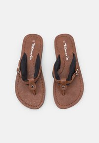 Tamaris - T-bar sandals - black/muscat - 5