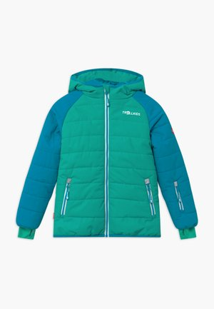 HAFJELL SNOW PRO UNISEX - Ski jacket - light petrol / dark mint / white