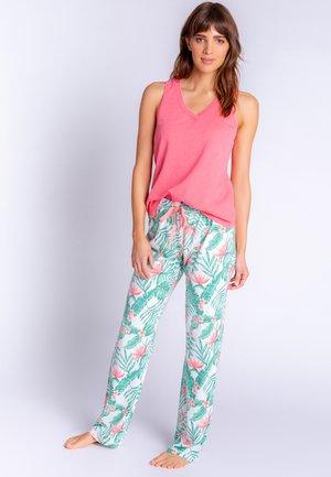 Pyjamabroek - coral red
