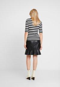 Ibana - ABBY - Leather skirt - black - 2