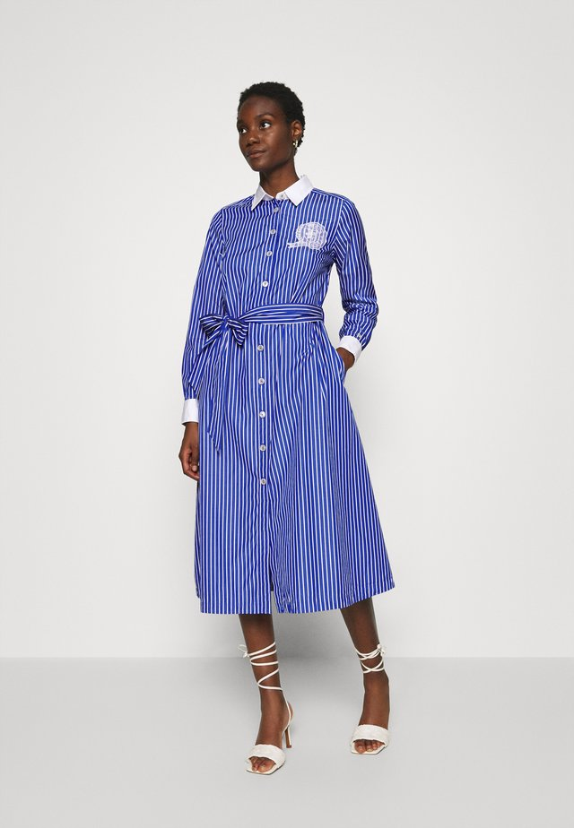ICON MIDI DRESS - Shirt dress - blue violet