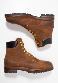 Giorgio 1958 - Lace-up ankle boots - brown - 1
