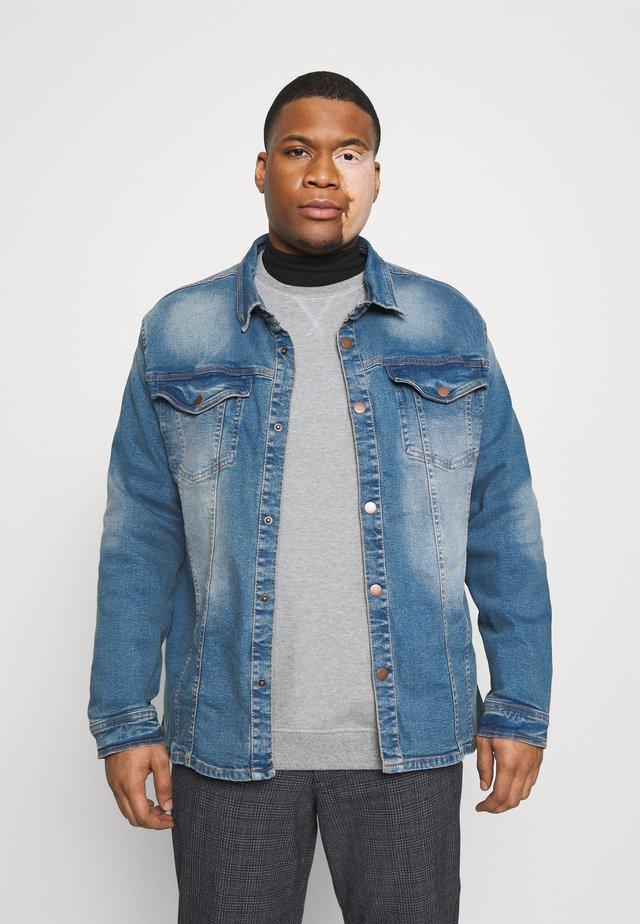 Džínová bunda - karma blue