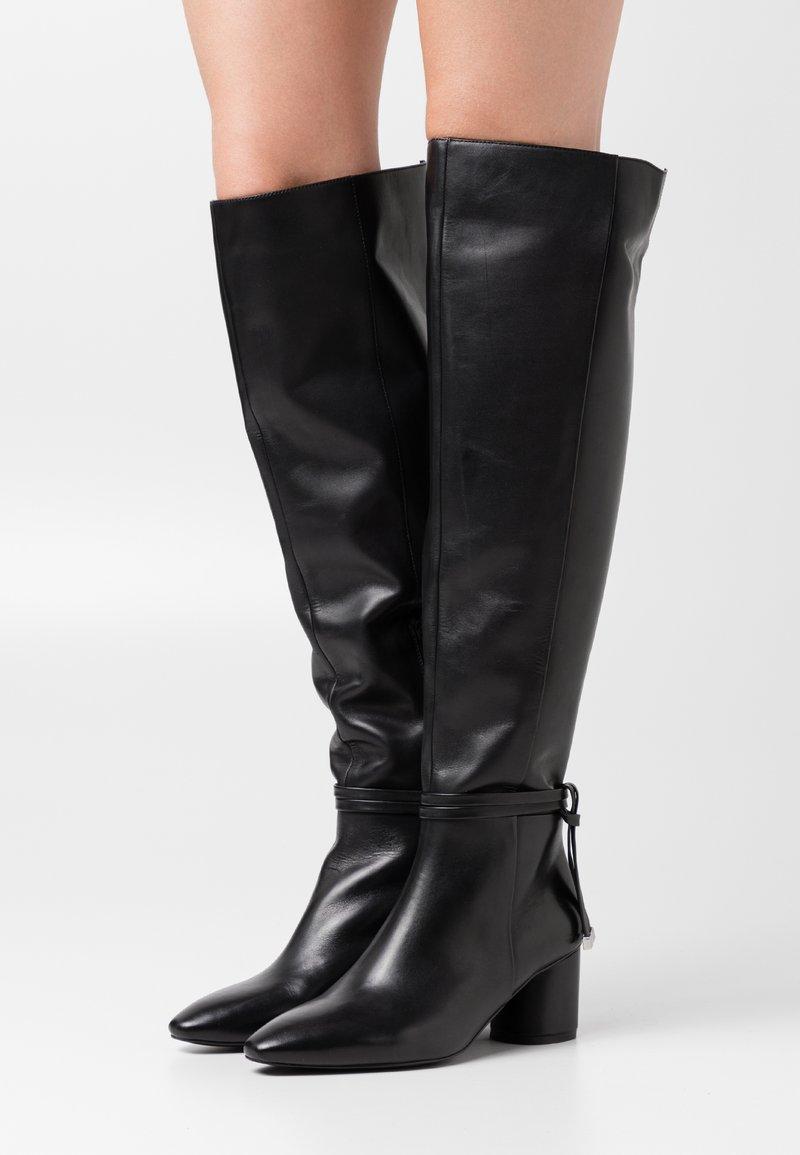 Zign - Overknee laarzen - black