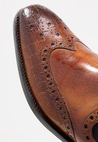 Melvin & Hamilton - MARTIN - Classic ankle boots - tan/purple/brown - 5
