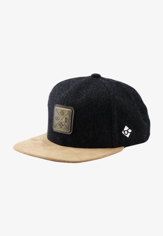 KREIZWEIS - Cap - schwarz