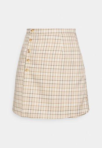 Mini skirt - check