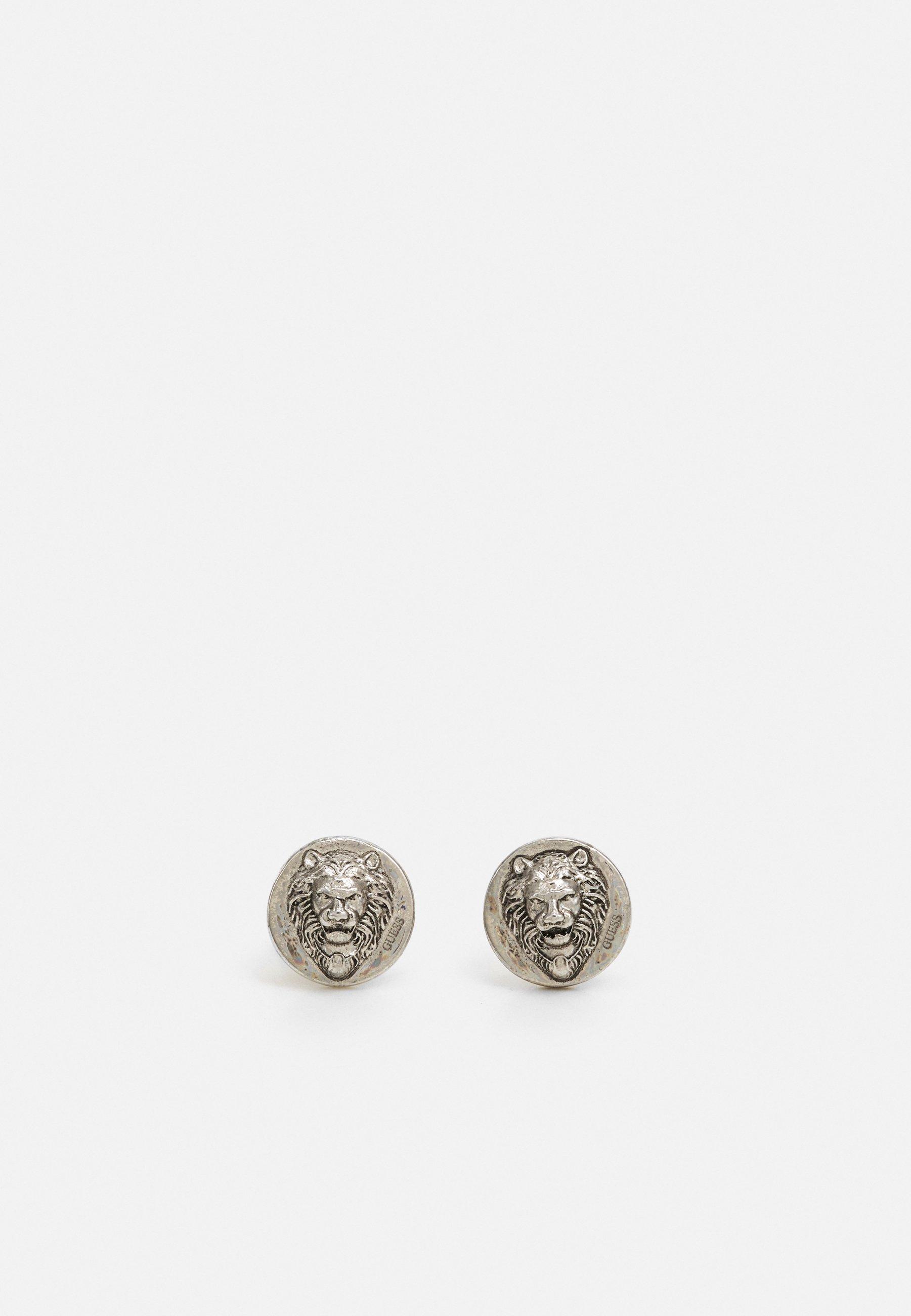 Women LION HEAD STUD UNISEX - Earrings