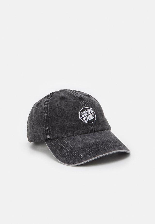 OPUS DOT CAP TIE DYE UNISEX - Cap - black acid
