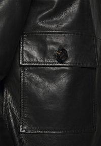 DRYKORN - GRYT - Leather jacket - schwarz - 6
