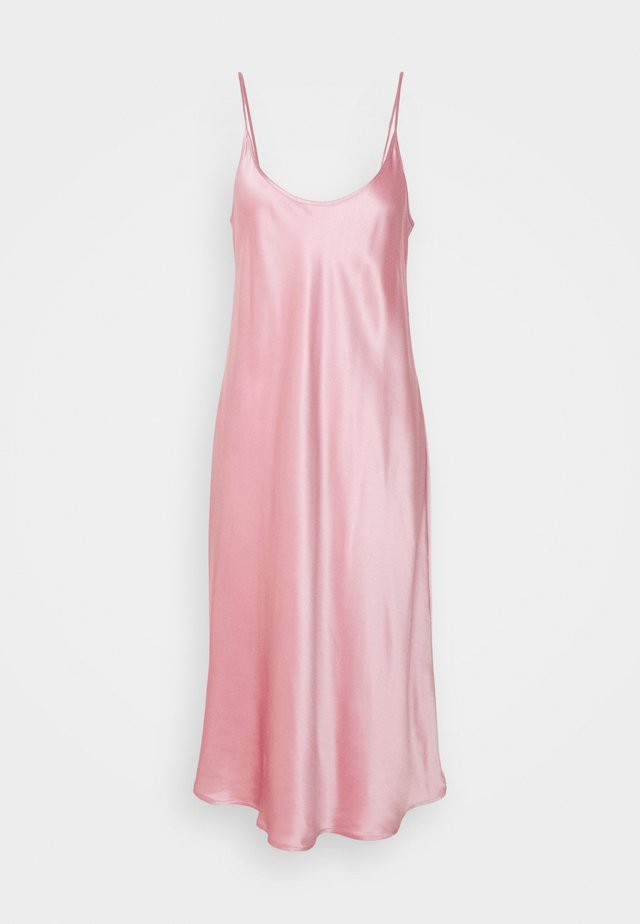 NIGHTGOWN UNDER KNEE - Negligé - pink powder