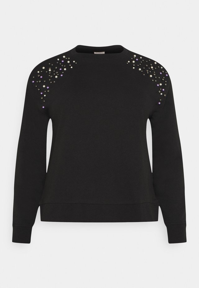 CARETTA  - Sweater - black
