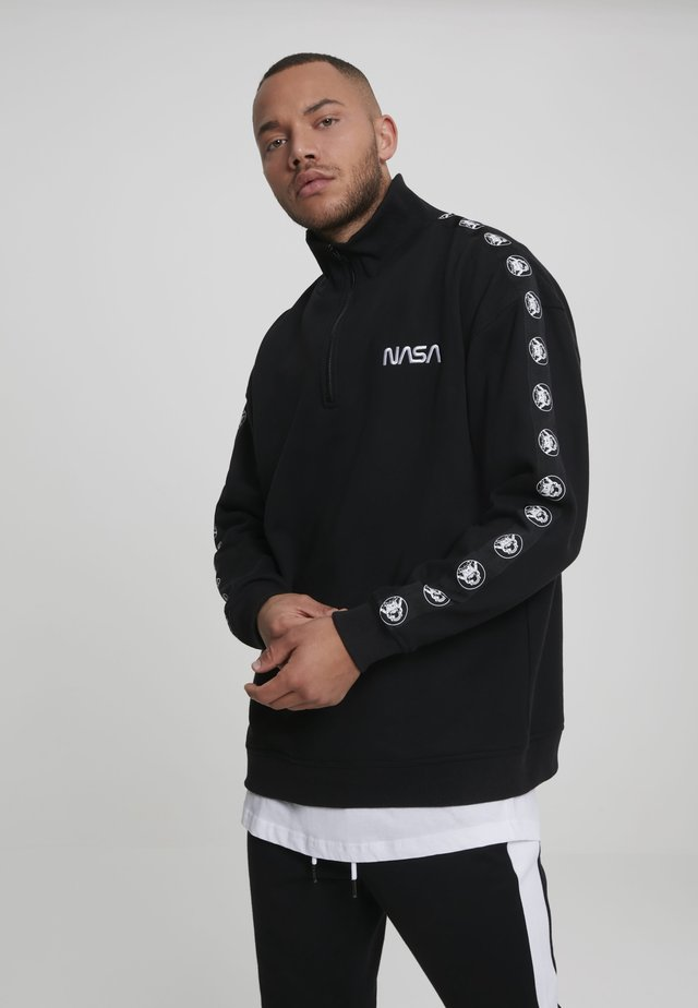 NASA WORMLOGO TROYER ASTRONAUT - Sweatshirt - black