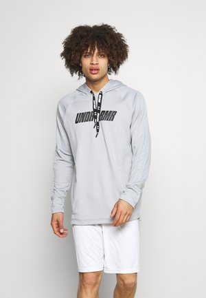 BASELINE HOODY - Sweatshirt - mod gray full heather
