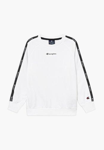 LEGACY AMERICAN CREWNECK UNISEX - Sweatshirt - white