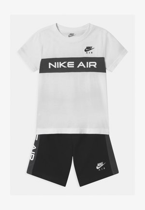 AIR SET  - Pantalones deportivos - black/white