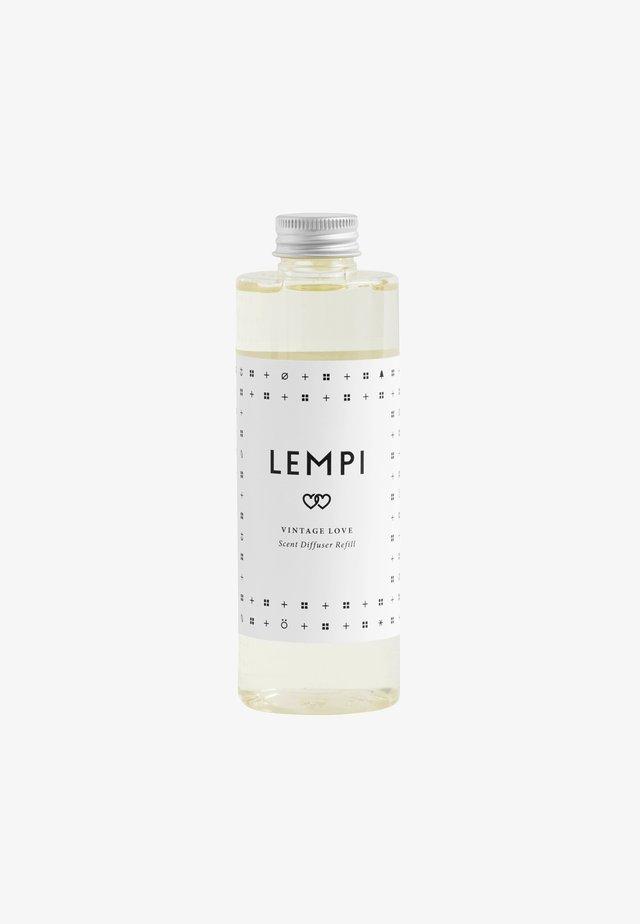 REED DIFFUSER REFILL 200ML - Home fragrance - lempi white/black