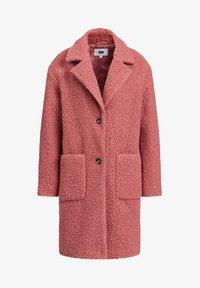 WE Fashion - TEDDY - Classic coat - old rose - 5