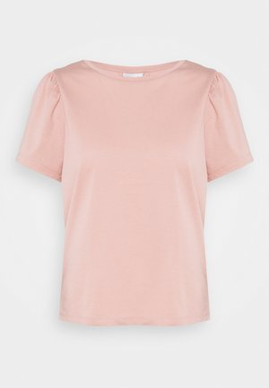 VIDREAMERS PUFF SLEEVE  - Basic T-shirt - misty rose
