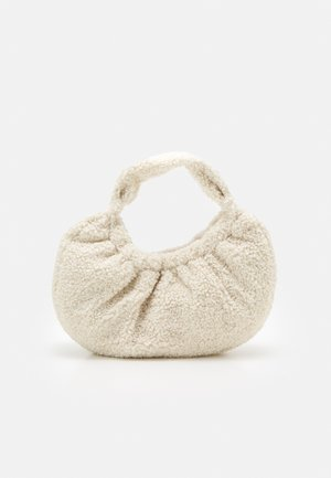 BORG SCRUNCHIE SHOULDER - Handbag - off-white
