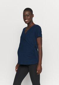 Even&Odd active - T-shirt basic - dark blue - 0