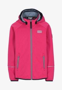 LEGO Wear - SKY UNISEX - Soft shell jacket - pink - 0