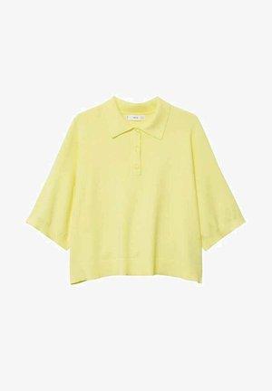 NURIET - Koszulka polo - pastelgeel