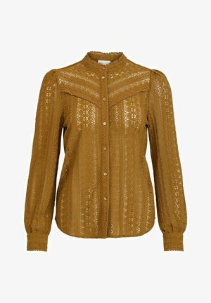Button-down blouse - butternut