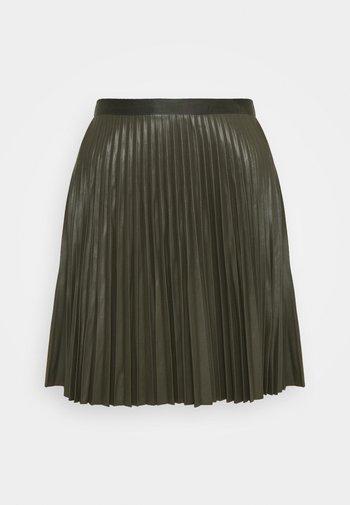 VIAMINNA - A-line skirt - forest night