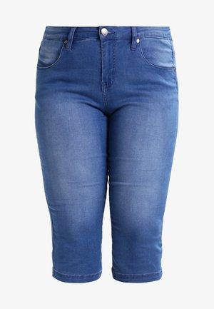 EMILY - Denim shorts - light blue denim
