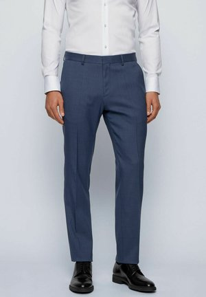 ESP GANDER - Suit trousers - dark blue