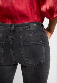 Mos Mosh - SUMNER FRAY TROK - Jeans Skinny Fit - black - 4
