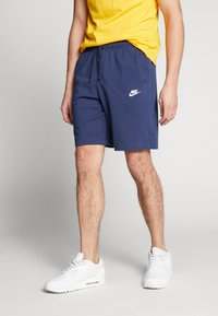 Nike Sportswear - CLUB - Shorts - midnight navy/white - 0