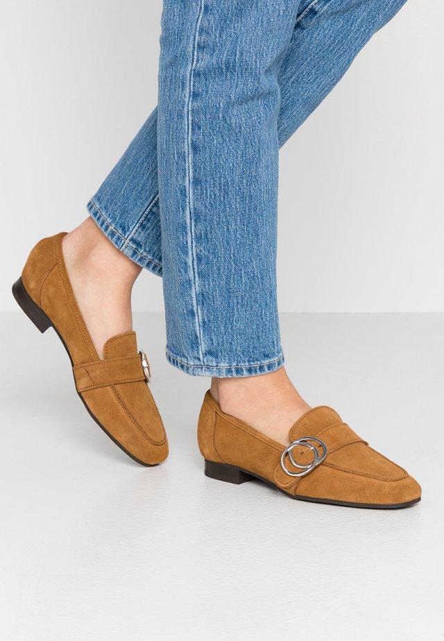 LOAFER - Slip-ons - rust brown