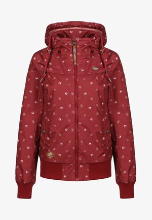 REGENJACKE JOTTY WATERLILY W - Outdoor jacket - red