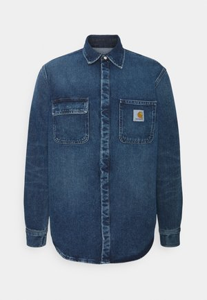 SALINAC JAC MAITLAND - Shirt - blue mid worn wash