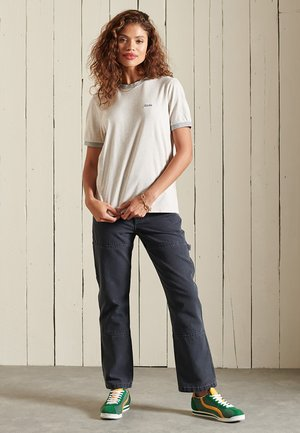 Spodnie materiałowe - eclipse navy