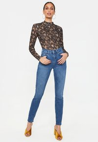 WE Fashion - Long sleeved top - brown - 1