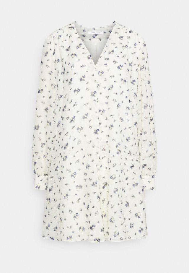 JETTA SHORT DRESS - Blousejurk - white
