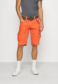 Schott - Cargo trousers - orange - 0