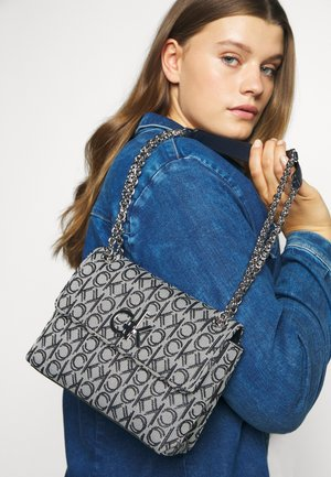 RE LOCK CROSSBODY - Across body bag - blue