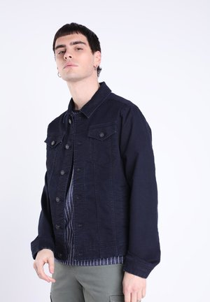 MIT TASCHEN - Giacca di jeans - denim stone