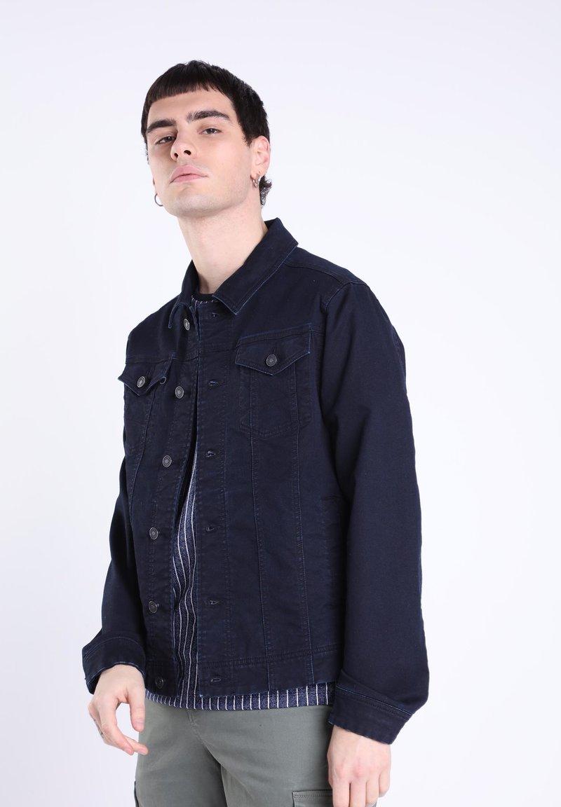 BONOBO Jeans - MIT TASCHEN - Giacca di jeans - denim stone