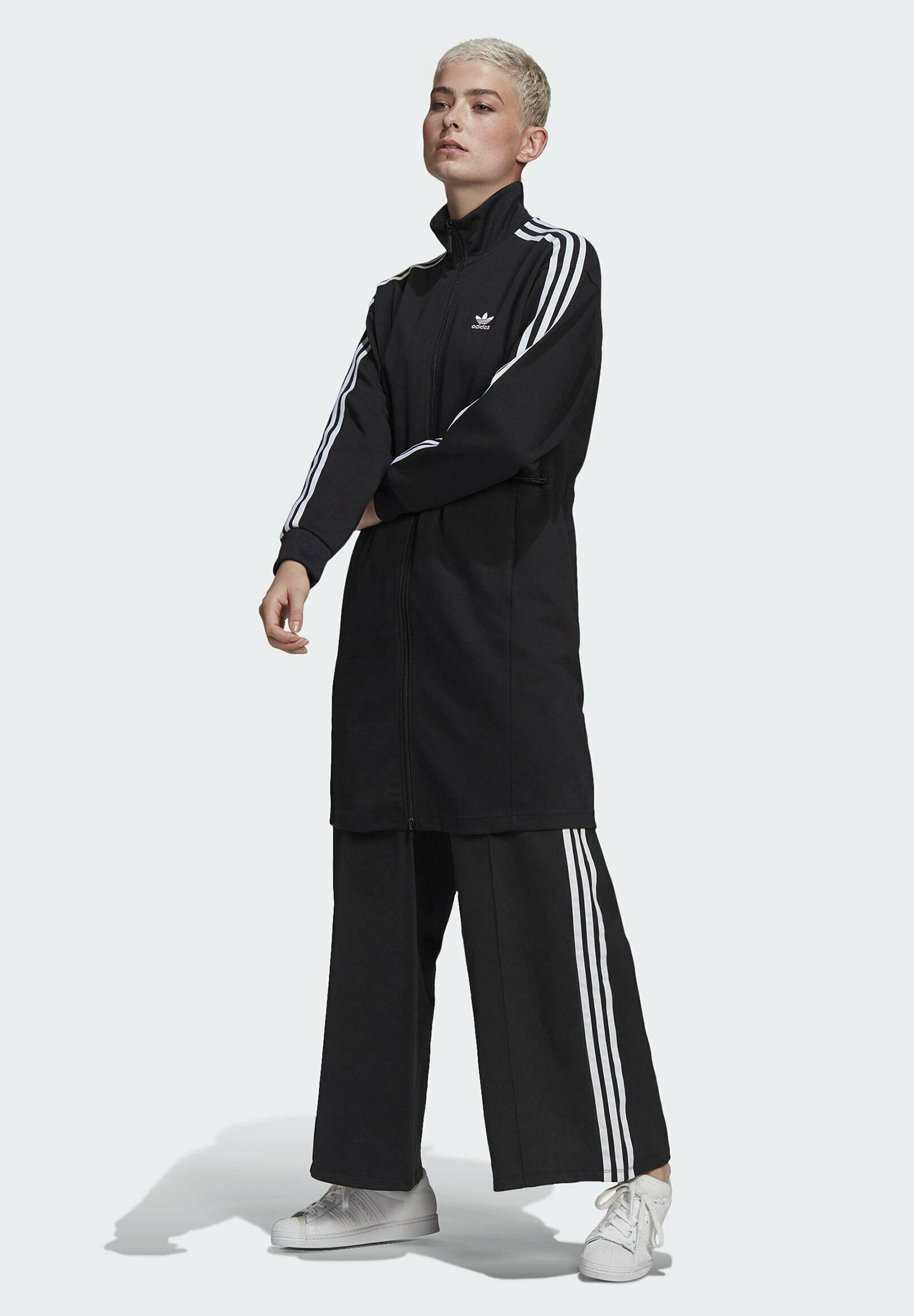 Women LONG ADICOLOR CLASSICS PRIMEBLUE TRACK JACKET - Training jacket