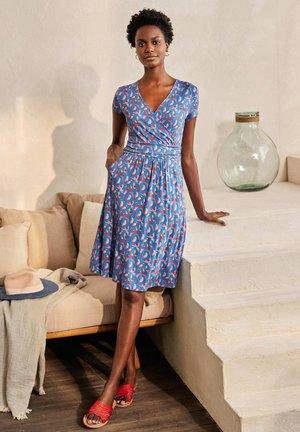LOLA  - Jersey dress - marokkoblau, sittiche